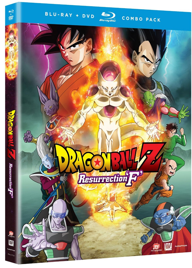 Dragon Ball Z: Resurrection F Blu-ray+DVD