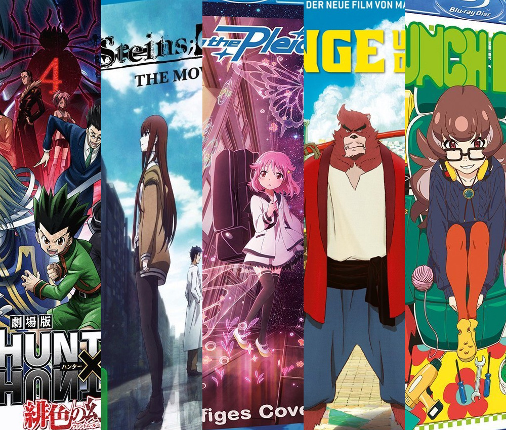 Neue Anime Hits im Juli 2016 von Alive, Nipponart, Universum Anime, KS