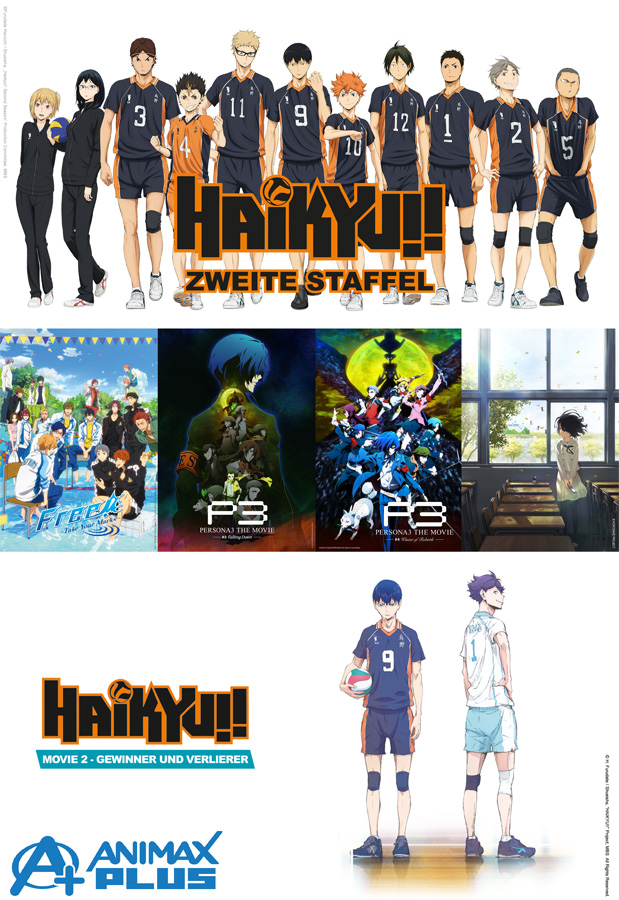 Neue Anime Titel auf ANIMAX sowie Drifters als Deutschlandpremiere