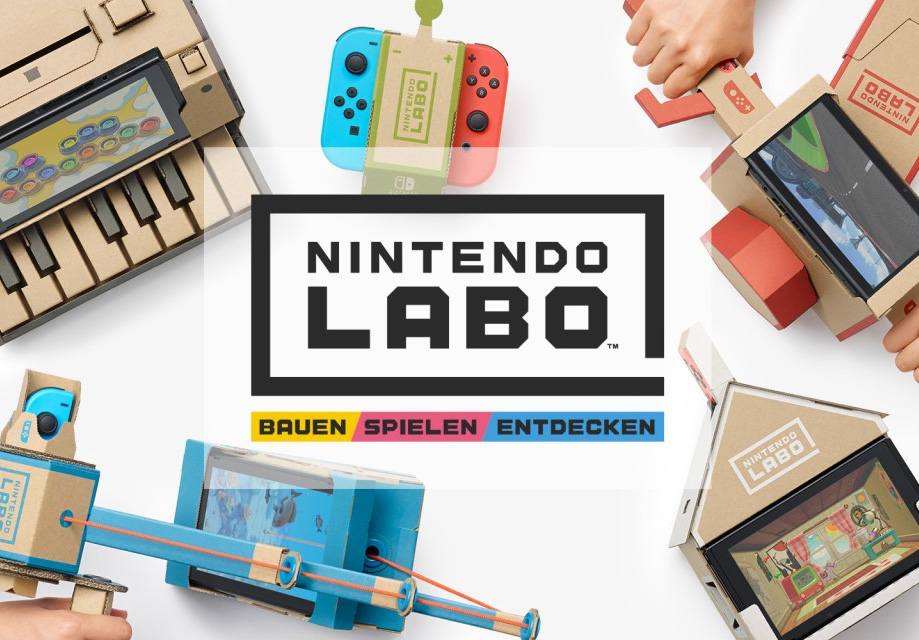 Nintendo präsentiert: Nintendo Labo - Basteln, Spielen und Entdecken