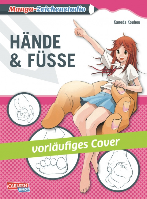 Manga-Zeichenstudio - Hände und Füße