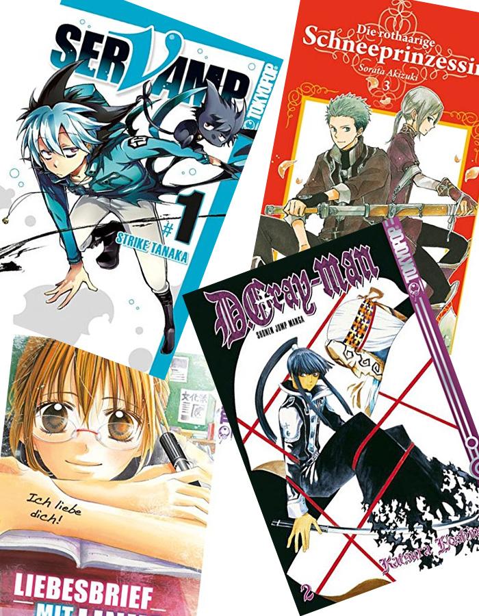 Nachdrucke beim deutschen Manga Verlag Tokyopop und neue E-Mangas