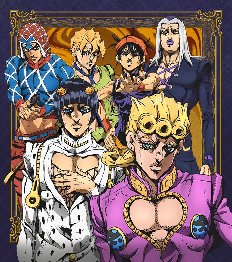Nächste Anime-Umsetzung zu JoJo's Bizarre Adventure startet im Herbst