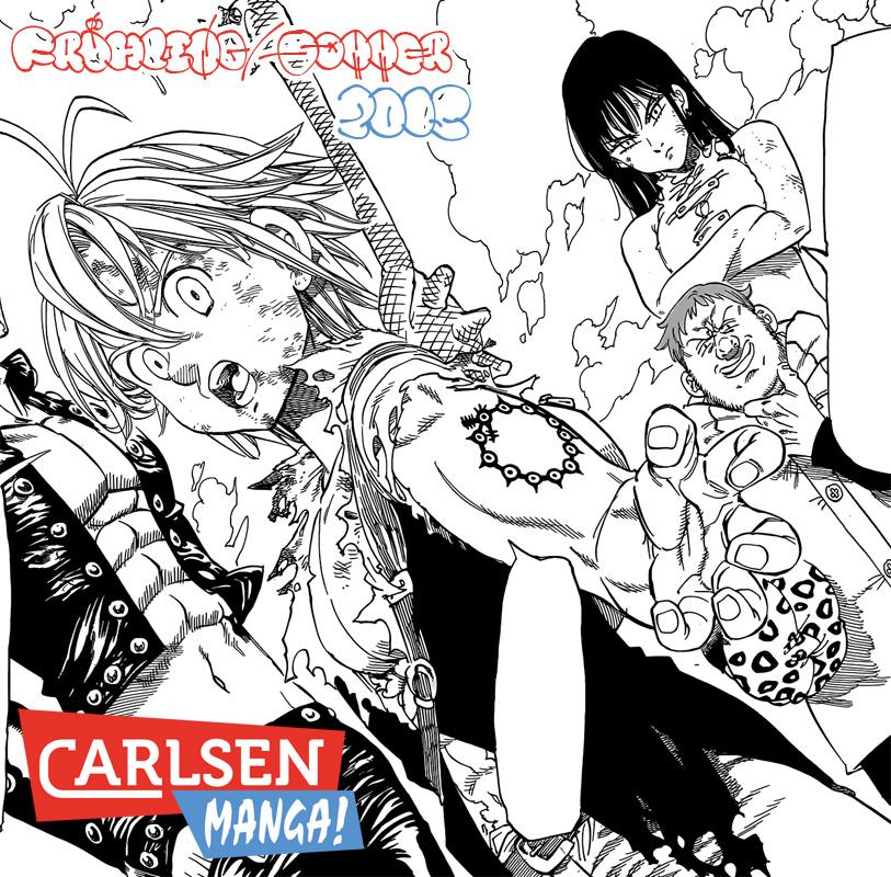 Carlsen Manga! - Das Manga Programm für Frühling/Sommer 2015