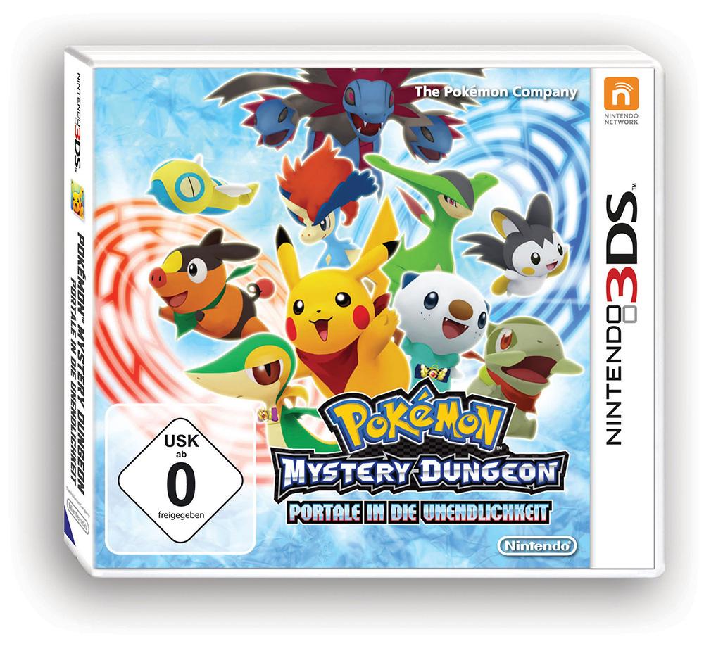 Pokemon Mystery Dungeon: Portale in die Unendlichkeit... *Update*