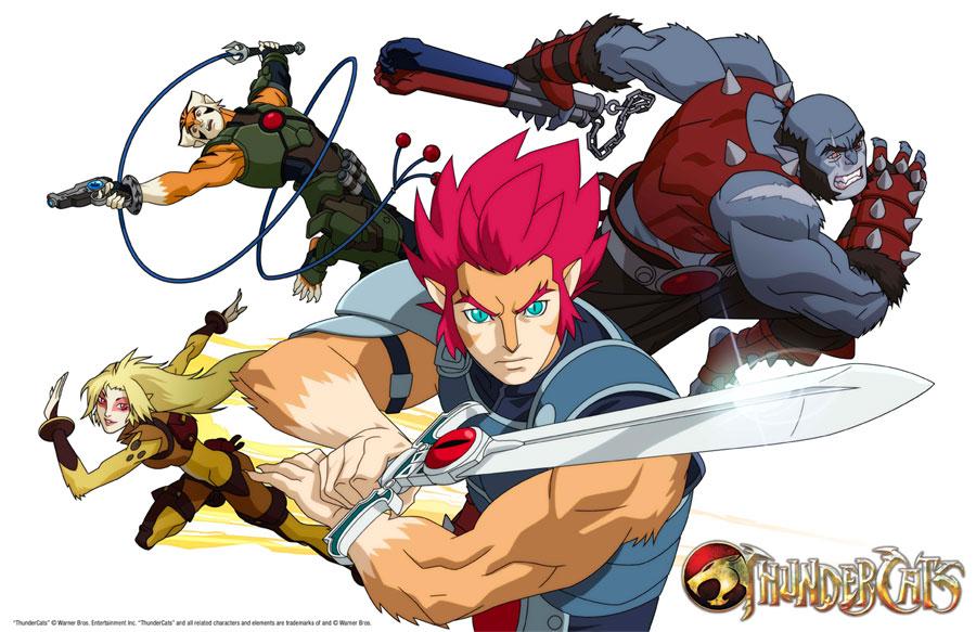 Wiederbelebte Serie ThunderCats künftig als Anime