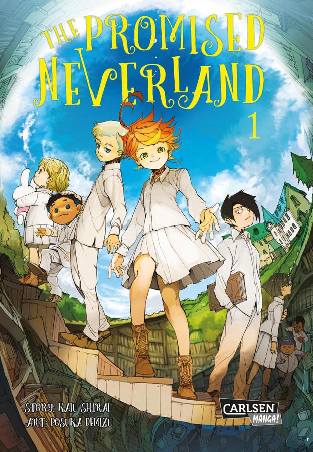 Der Animehunter Manga-Tipp: The Promised Neverland