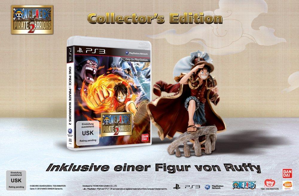 One Piece: Pirate Warriors 2 Ruffy Figur