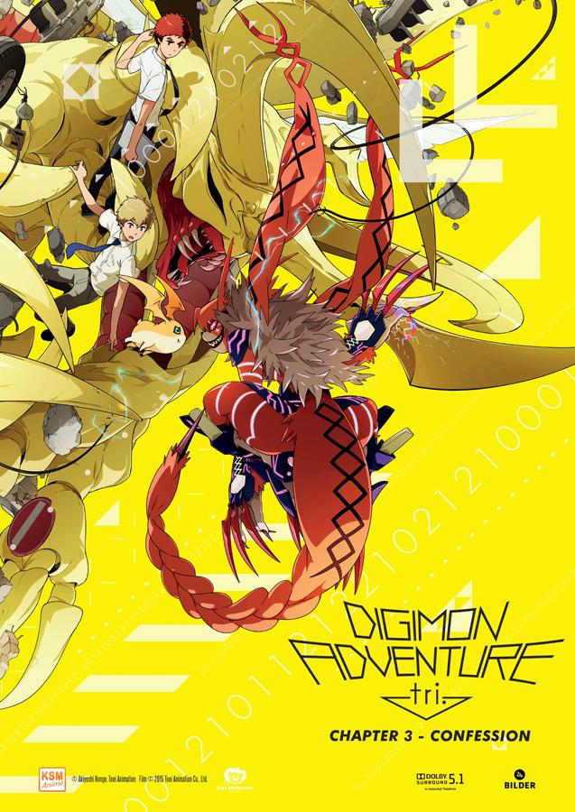 Digimon Adventure tri. Chapter 3 - Confession erscheint hierzulande am