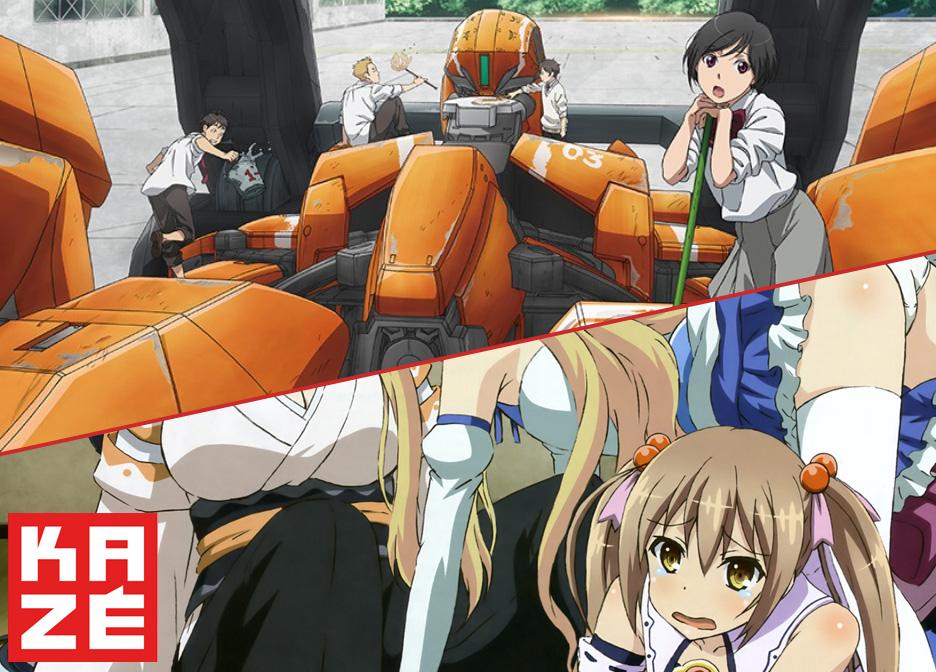 Zwei neue Anime Lizenzen bei Kazé und zwar Aldnoah.Zero sowie Invader