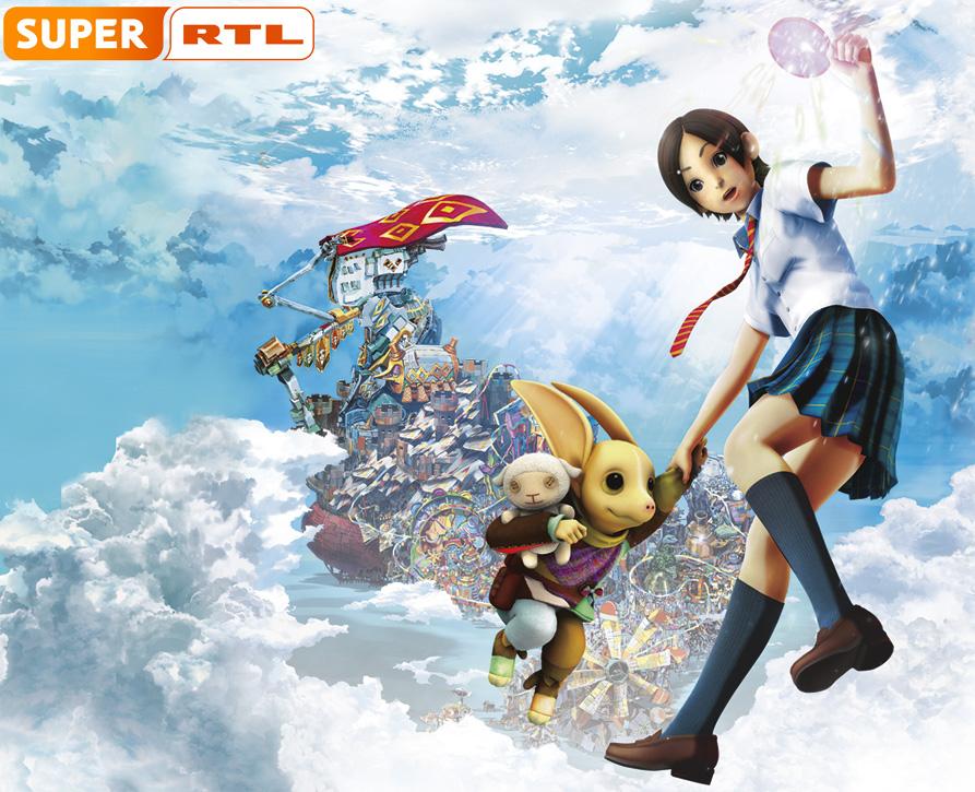 Super RTL zeigt mitte November den Anime Film Haruka und der Zauberspi