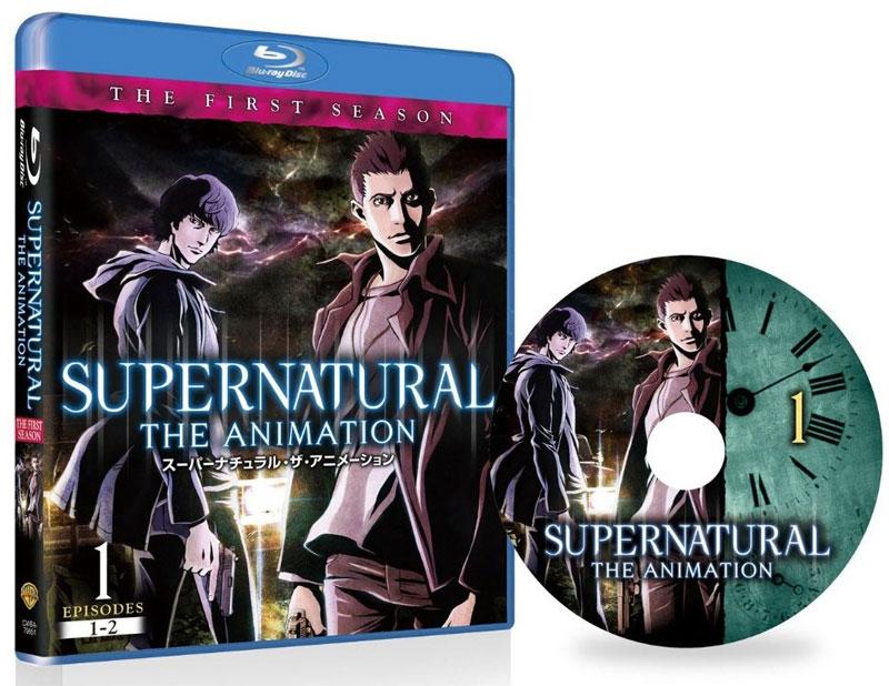 Supernatural The Animation: Japan Release im Februar, Deutschland Rele