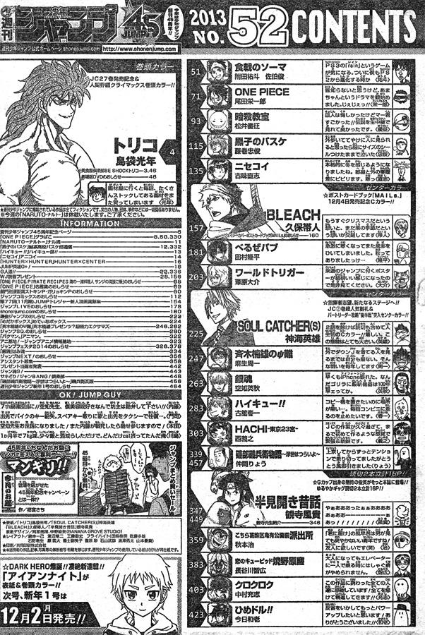 Weekly Shonen Jump 52/2013