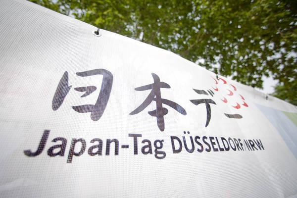 Morgen am 25. Mai 2013 ist der Japan-Tag in Düsseldorf/NRW