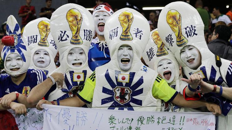 Fifa Fußball-Weltmeisterschaft 2014 Japan