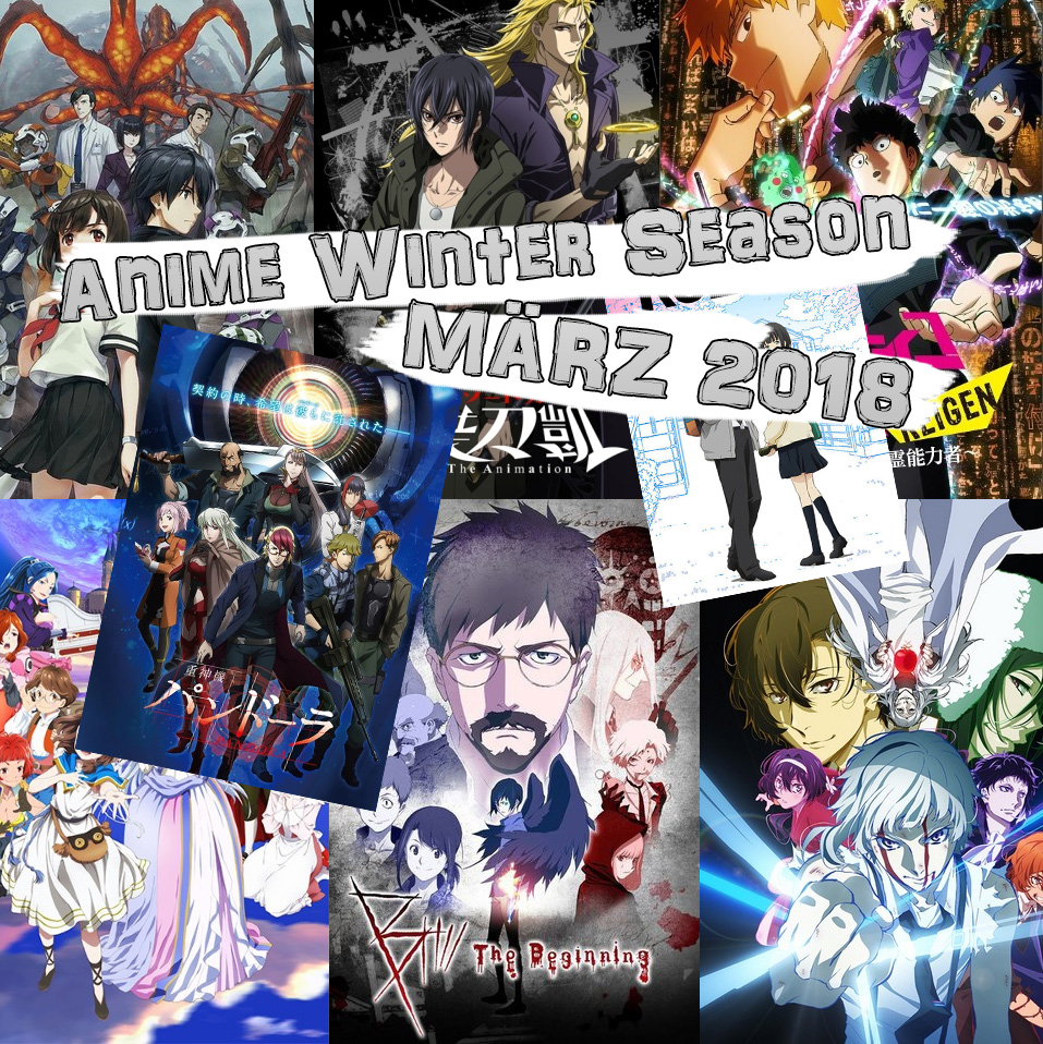 Anime Winter Season: März 2018 u.a mit B: The Beginning oder A.I.C.O.