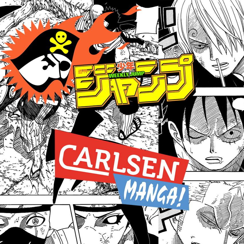 Shonen Jump meets Carlsen Manga!