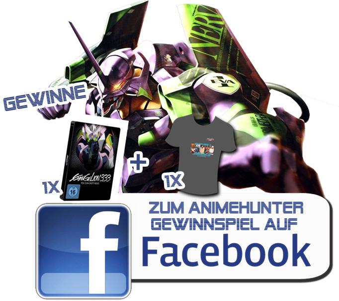 Zum Animehunter Gewinnspiel auf Facebook