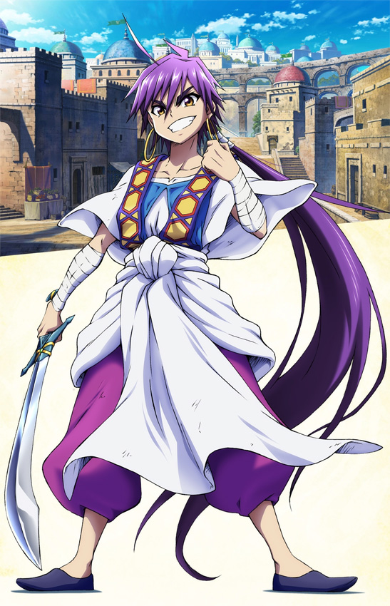 Magi: Adventure of Sinbad