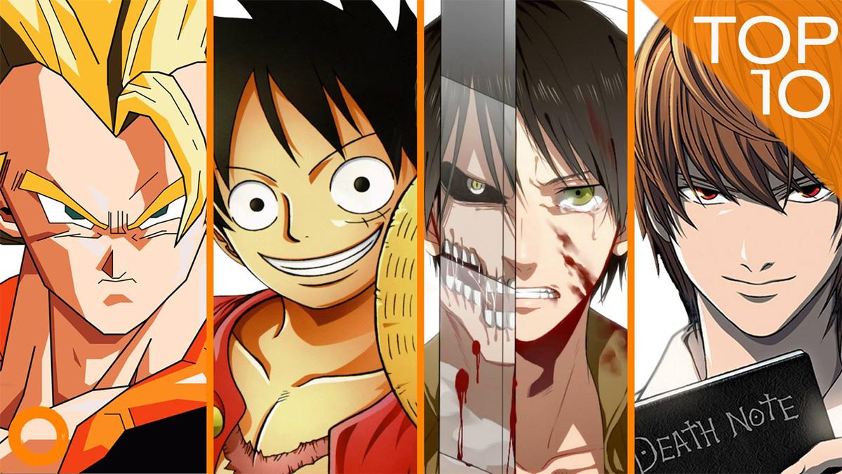 Ninotaku TV - Der YouTube-Channel von Nino Kerl -  Top 10 Anime Serien