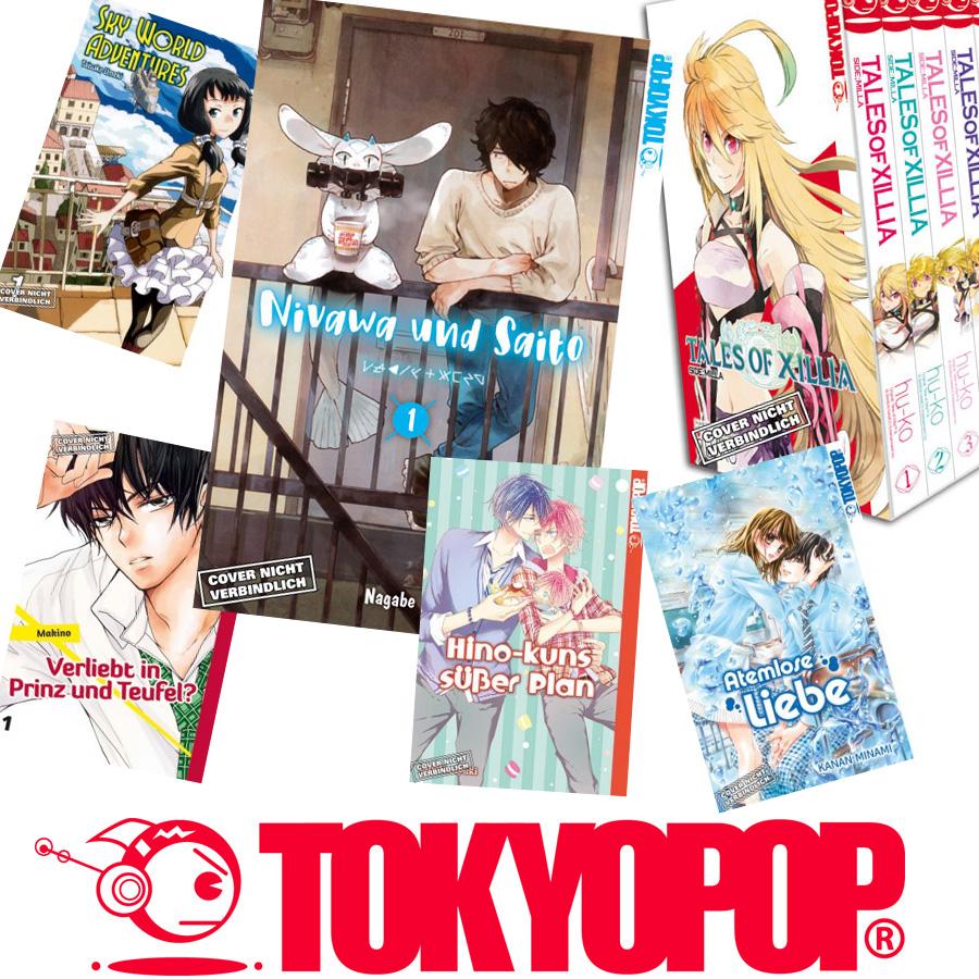 Tokyopop mit neuen Mangas im Frühjahr/Sommer 2018 *UPDATE*