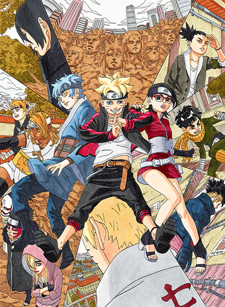 Spin-off Manga-Serie zu Boruto und neuer Naruto One-Shot demnächst im