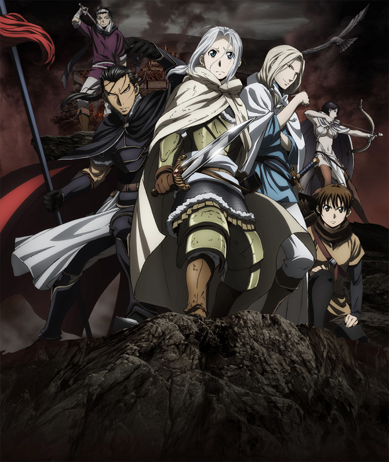 25-teilige Fantasy-Saga The Heroic Legend of Arslan auf Netflix