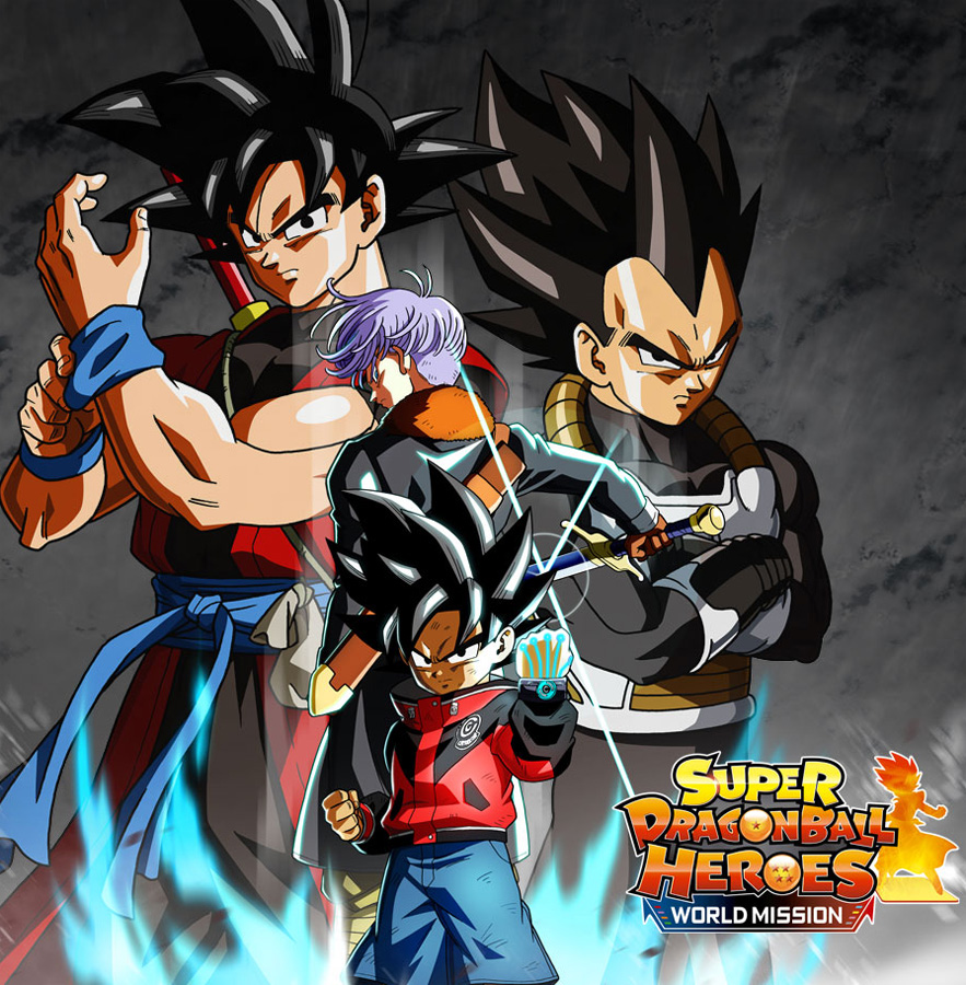 Super Dragon Ball Heroes World Mission erscheint am 5. April 2019 für