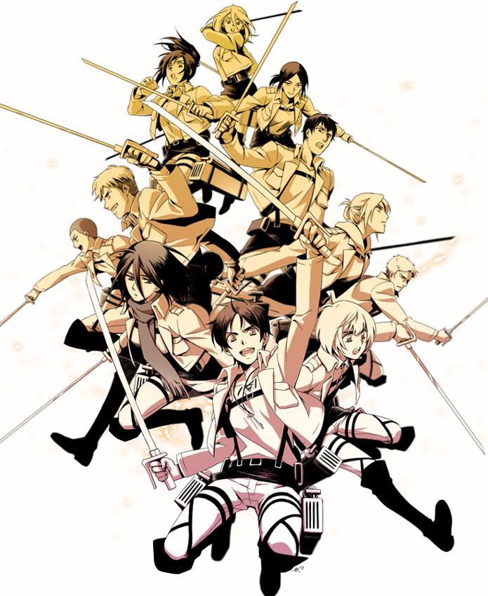 Die letzte Episode von Shingeki no Kyojin (Attack on Titan) läuft am