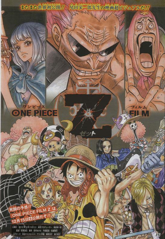 11. One Piece Film Z - viele Neuigkeiten + Handlung vom Film *Update*