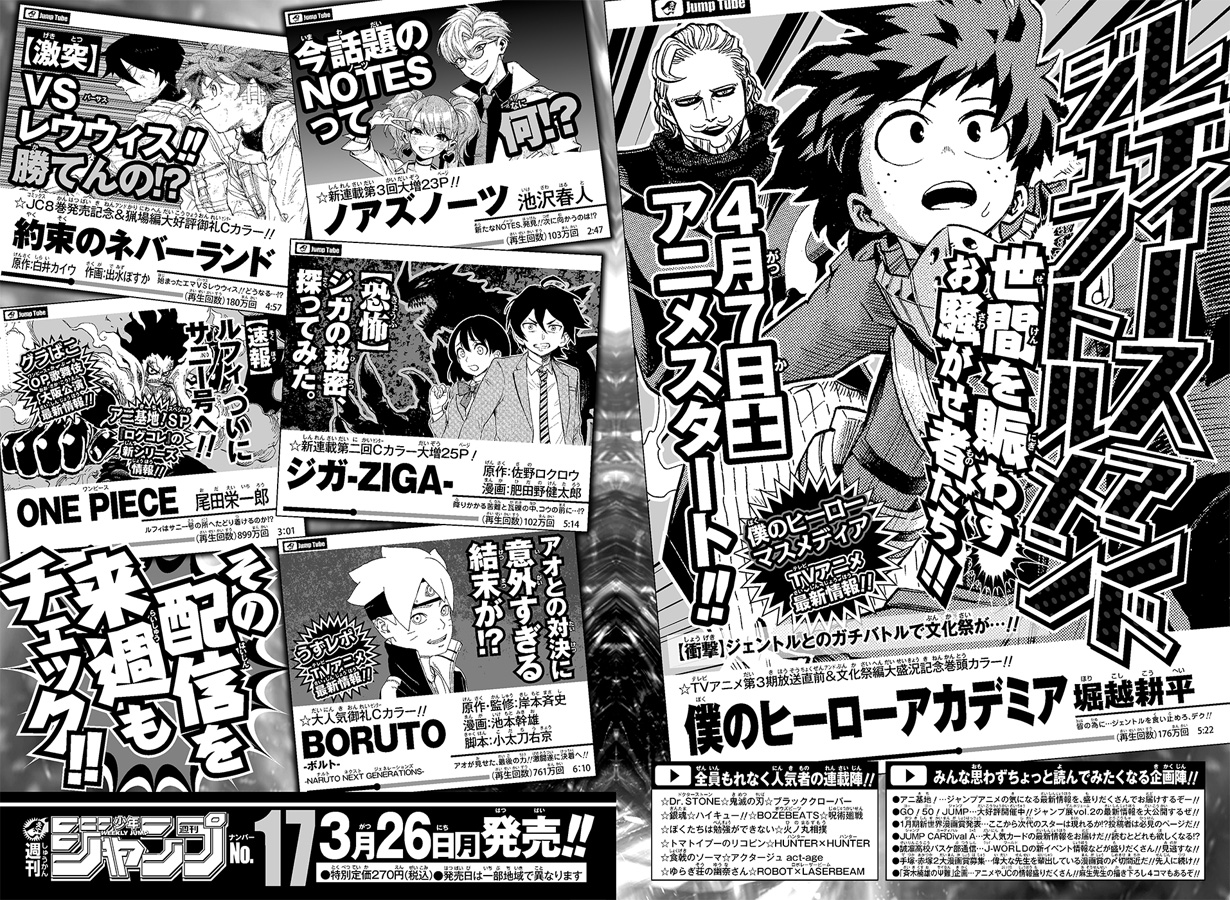 Weekly Shonen Jump 16/2018
