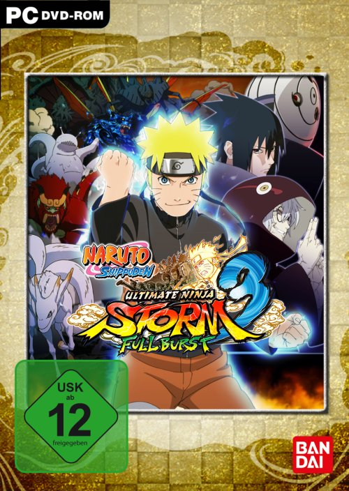 Das Naruto Shippuden: Ultimate Ninja Storm 3 Full Burst Game ist absof