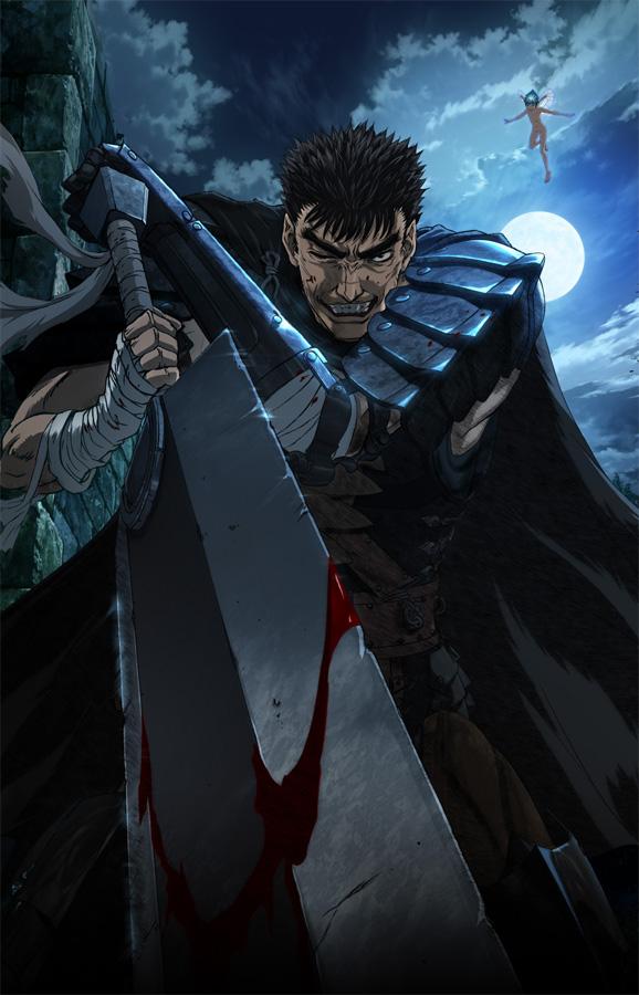 Universal Pictures lizenziert die neue Anime Adaption von Berserk