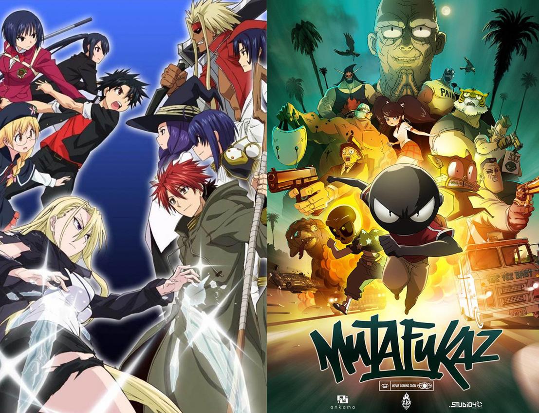 Neue Anime Lizenzen bei peppermint anime: UQ Holder! und Mutafukaz nä
