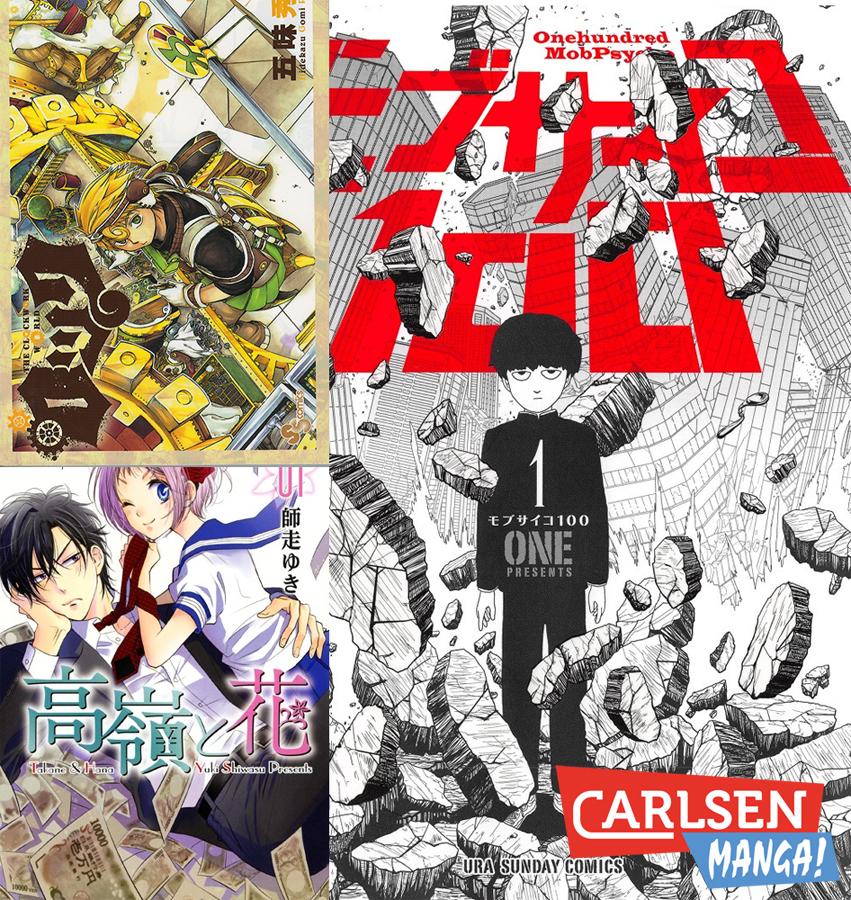 Carlsen Manga! mit neuen Mangas im Herbst/Winter 2017/18
