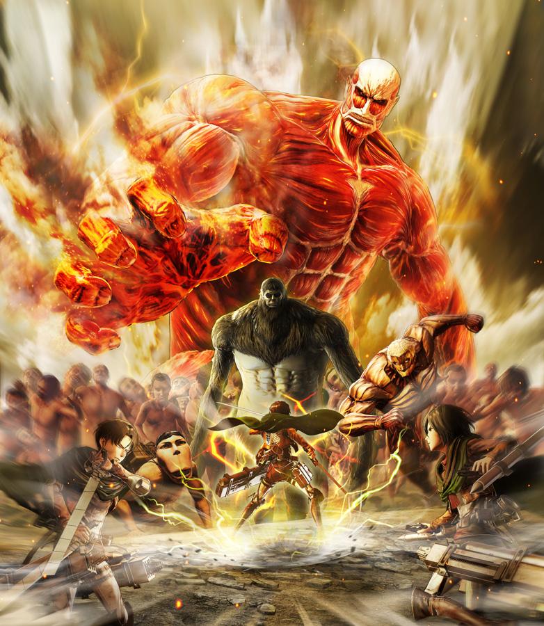 A.O.T. 2: Final Battle erscheint am 5. Juli für PlayStation 4, Ninten