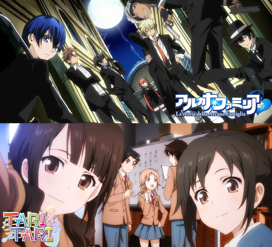 La Storia della Arcana Famiglia und Tari Tari bei Anime House *Update*