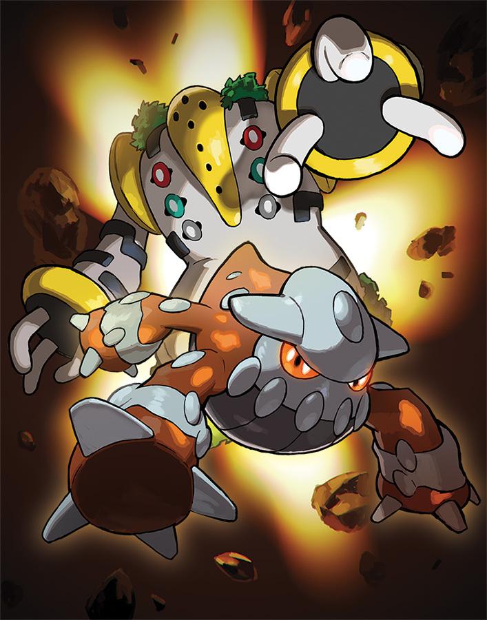 Die Legendären Pokémon Heatran und Regigigas werden im März via Int