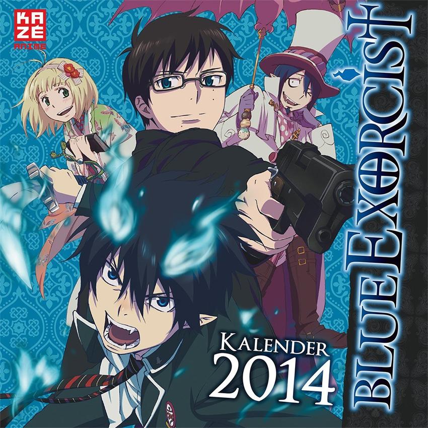 Blue Exorcist Wandkalender 2014