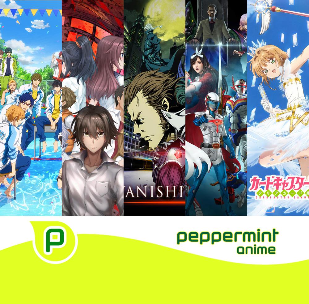 Neue Anime Lizenzen von peppermint anime für das anstehende Jahr 2018