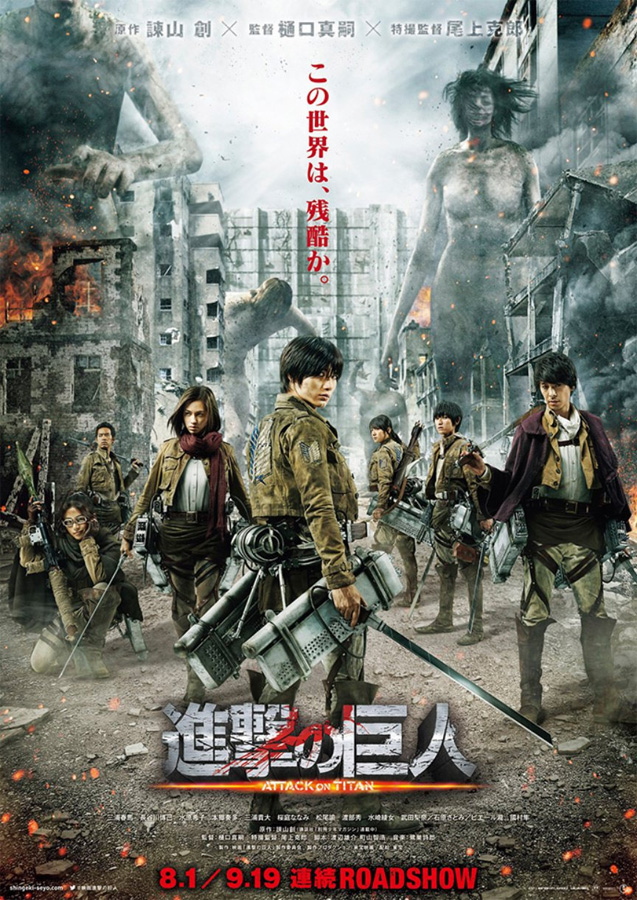 Der erste Live-Action Film zu Attack on Titan (Shingeki no Kyojin) sta