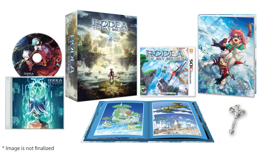 Rodea: The Sky Soldier - Collectors Edition