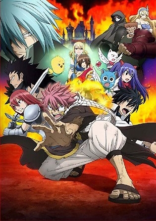 Trailer zum kommenden Fairy Tail Film *Update*