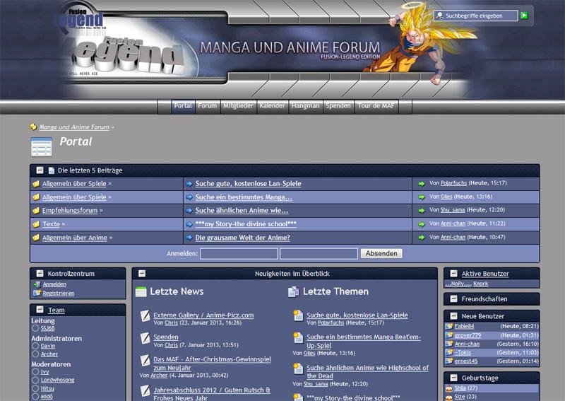 Neue Partnerschaft mit Manga-Forum.net! Das Forum der damals besten, d