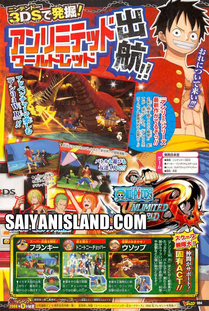 One Piece Spiel Unlimited World Red