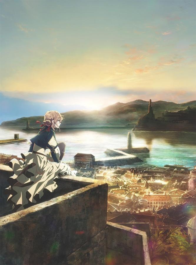 Die kommende Anime TV-Serie Violet Evergarden von Kyoto Animation ersc