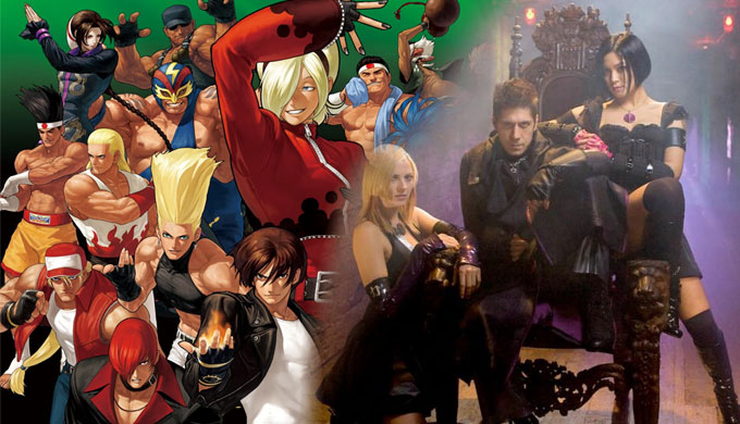 The King of Fighters Realverfilmung von Gordon Chan