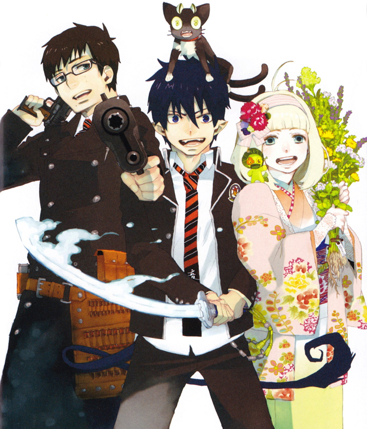 Blue Exorcist Artbook Pocket Gallery im März 2014 auf Deutsch