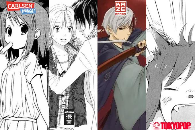 November 2013: Manga Monatsübersicht