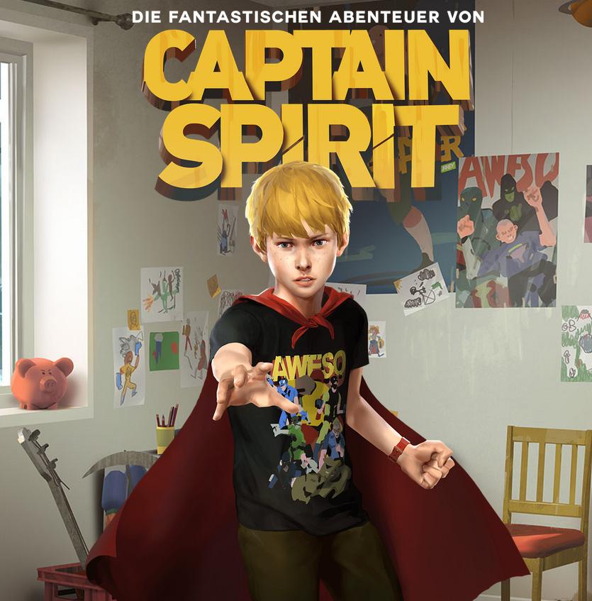 Die fantastischen Abenteuer von Captain Spirit - Ab sofort kostenlos e